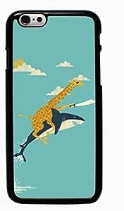 Cute Giraffe Animal Hard Case for Apple iPhone 6 6G 4.7 ( Sugar Skull )