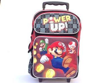 Super Mario Rolling School Backpack 5365