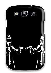 DanRobertse Galaxy S3 Hybrid Tpu Case Cover Silicon Bumper Daft Punk Electronic House Electro Mask Robot