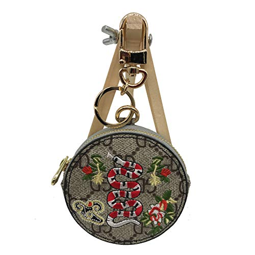 San San Accessories New Zodiac Signs Snake Delicate Cartoon Ornaments Medium Size Keychain Coin Purse for Unisex-Adult