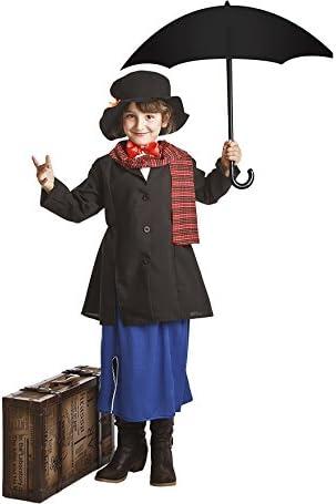 Disfraz para niñas de Institutriz Mary: Amazon.es: Juguetes y juegos