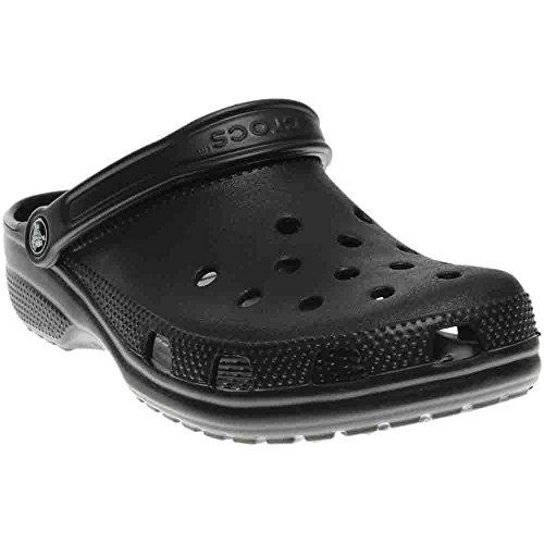 最好的价钱 Crocs Unisex Classic Clog, Black, Women' /Men'