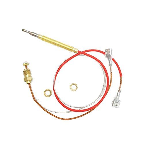 실외 히터 교체 부품 M8 x 1 엔드 연결 너트 열전쌍 0.4 미터 길이 ..