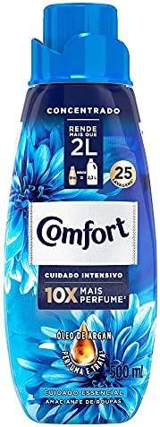 Amaciante Concentrado Comfort Cuidado Essencial 500Ml