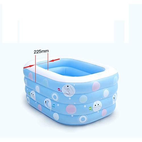 GJFeng Insulation Thickening Baby Swimming Pool Baby Home Swimming Pool Newborn Baby Child Inflatable Swimming tub 120 95 72cm 135 95 58cm (Size : 135cm105cm58cm) by GJFeng (Image #2)