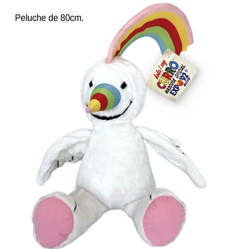 Peluches Cel- Peluche, Color Blanco y Arcoiris (MAE 1992)