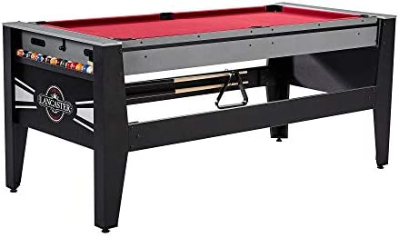 Lancaster Gaming - Mesa 4 en 1 con Hockey de Aire, Billar, Tenis ...