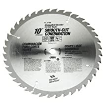 "10"" 40T Smooth Cut Carbide Circular Saw Blade"