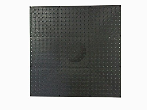 Black Poly Pegboard (24x24 in.) by Peg USA by Peg USA