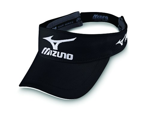 Mizuno Golf Tour Visor, Black