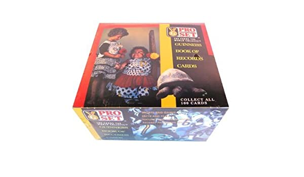Guinness Book of World Records Trading Cards Box -36 Count: Amazon.es: Juguetes y juegos