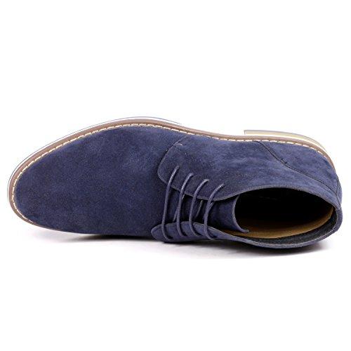 Chukka Metrocharm Boot up Lace MC131 Blue Casual Fashion Men's Ankle pq8pr0w