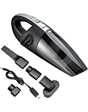 Hand Vacuum Cordless with High Power, Upgraded Hand Vacuum Cordless Rechargeable Pet Hair Vacuum, Car Vacuum Cleaner for Home and Car Cleaning (Updated)