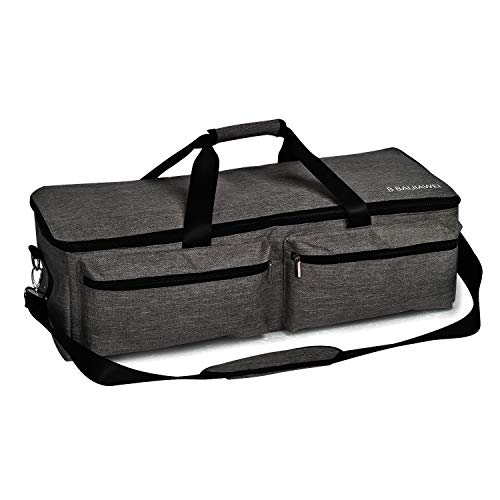 B BAIJIAWEI Carrying Bags for Cricut Explore - Cricut Accessories Storage Bag, Travel Bag for Cricut Explore Air, Cricut Explore Air 2, Cricut Maker (Black)