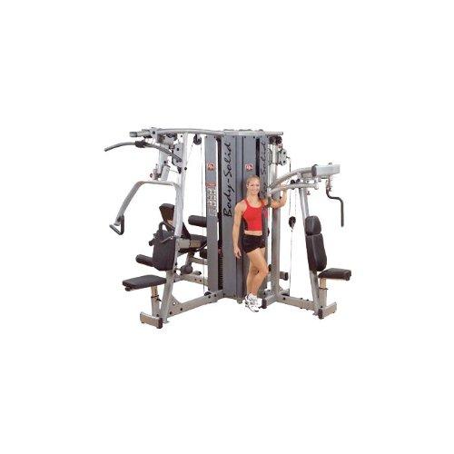 Body Solid DGYM Pro Dual Modular 4-Stack Gym System (Base