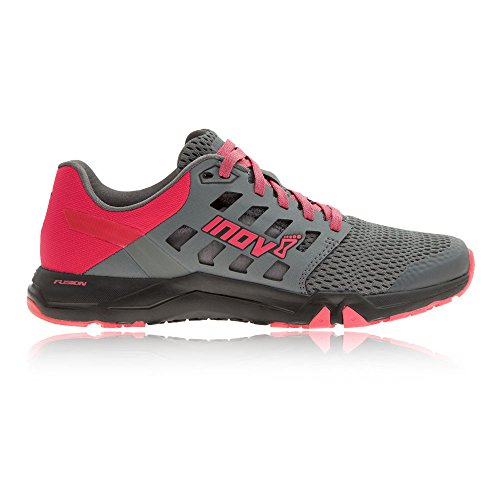 Inov-8 Donna All Train 215 Scarpa Cross-trainer Grigio Scuro / Rosa / Nero