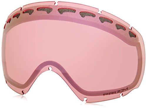Oakley Men's Crowbar Snow Goggle Replacement Lens, Prizm Hi Pink, Prizm Hi Pink, - Lens Replacement Crowbar Oakley