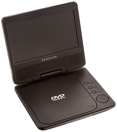 "Proscan PDVD7040 7"" Portable DVD Player with Swivel Screen"
