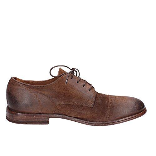 Ante Para Fi4nqtw De Zapatos Hombre Cordones Marrón Moma 5Lj4AR