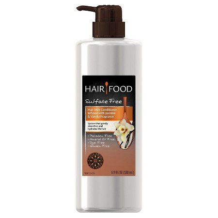 Shampoo Jasmine Vanilla Conditioner - Hair Food Hair Milk Conditioner Infused with Jasmine & Vanilla Fragrance 17.9 oz