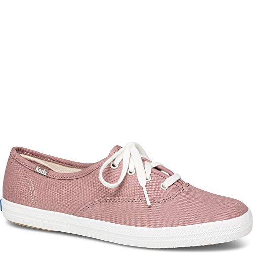 Keds Women's Champion Seasonal Solids Sneaker, Mauve, 8