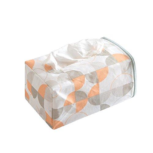 Car Seat Back Tissue Paper Organizer Box Napkin Holder Storage Bag with Zipper B onesize