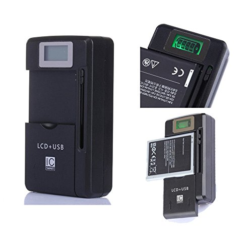 (guy-tech) Universal LCD Battery Charger for Sony CyberShot W220 W230 W290 DSC-N2
