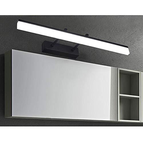 MIAOLIDP Geführtes Badezimmerspiegelkabinett Badezimmerspiegelkabinett Badezimmerspiegelkabinett spezielles Make-up einfache Moderne Wasserdichte beschlagfreie einziehbare Länge Schminktischlampe (Größe   40 8w) 3079ac