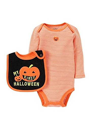 Child of Mine by Carters Baby Boys First Halloween Bodysuit And Bib Set (3-6M)]()