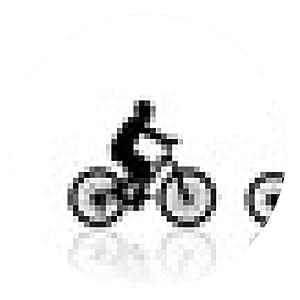 alfombrilla de ratón paseo en bicicleta familia - ronda - 20cm