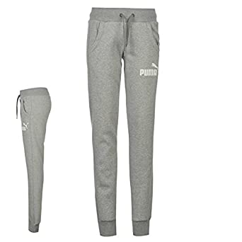 bca3e3d1c74d Puma Womens No1 Logo Ladies Jogging Bottoms Tracksuit Pants Trousers   Amazon.co.uk  Clothing