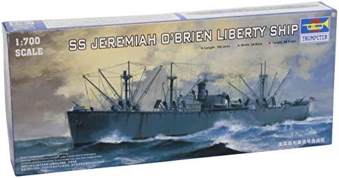 Barco de modelismo escala 1:700 Trumpeter Importado de Alemania