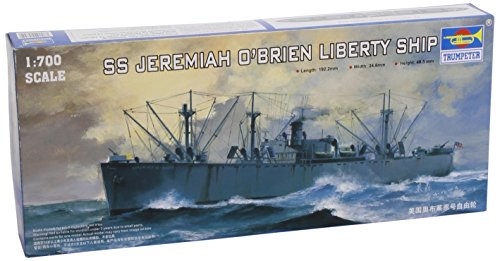 Trumpeter 1/700 USS SS Jeremiah O'Brien WWII Liberty Ship Model Kit (Wwii Ship)