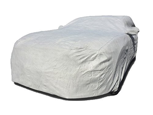 CarsCover Custom Fit 1991-2019 Volkswagen Golf GTI Car Cover Heavy Duty Weatherproof Ultrashield VW Hatchback e-Golf Golf R Covers (Gray)