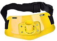 Fishing Rod Holder Belt, Boat Adjustable Waist Gimbal Belt Fishing Pole Belt for Saltwater or Freshwater
