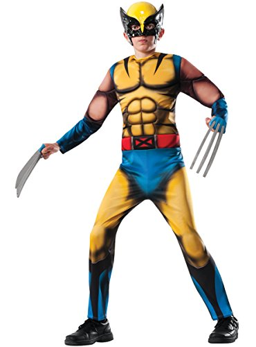 Deluxe Wolverine Costume Child Costume (Medium 8-10) -