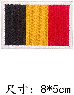 Autocollants en tissu brod/és drapeau accessoires du v/êtement Accessoires de patch autocollants pour d/écoration Velcro sac /à dos