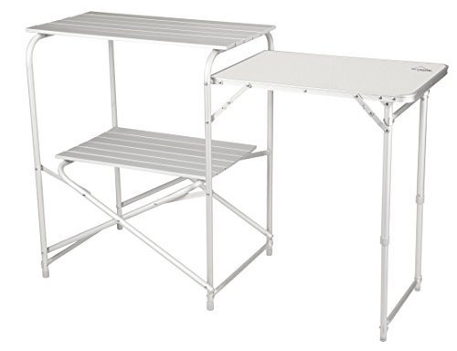 Alpine Mountain Gear Roll Top Kitchen Table, Grey by Alpine Mountain Gear
