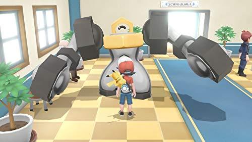 41Ah07VGekL - Pokémon: Let's Go, Pikachu! + Poké Ball Plus Pack