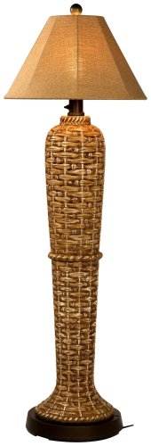 South Pacific 45943  60-inch Floor Lamp