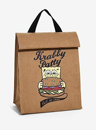 SpongeBob SquarePants Krabby Patty Insulated Lunch ()