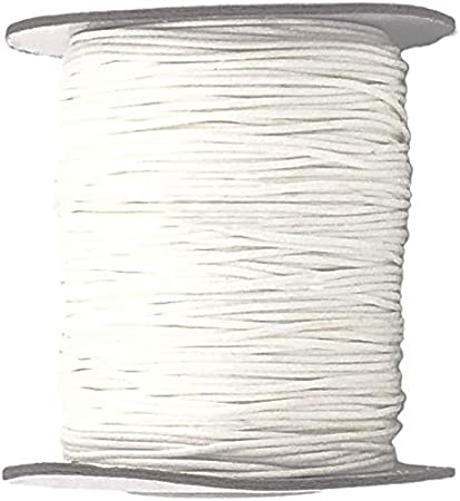 Or Lift Cord Generic 1 x Roll of 100 Yards Shade Cord 0.9 mm White 1 Pack