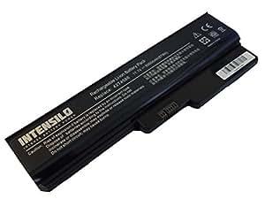 INTENSILO Li-Ion batería 6000mAh (10.8V) para Notebook Laptop Lenovo IdeaPad Z360 - 091232U, Z360 - 091233U por 42T4586, 57Y6527, L08L6Y02 etc..