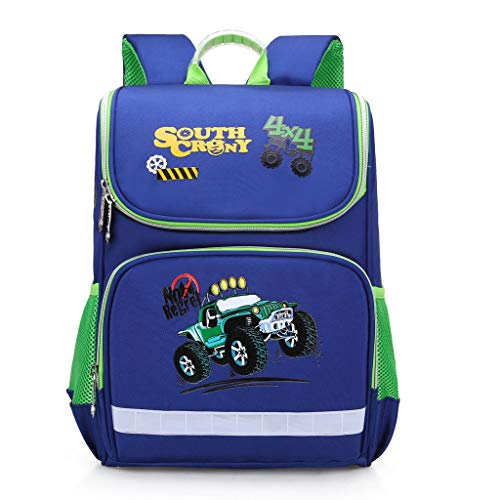 Lomsarsh Schoolbag for Kids Fashion Large Capacity Waterproof and Load-reducing Cartoon Kids Backpack Boys and Girls Fashion Casual Large Capacity Waterproof Backpack Student Backpack