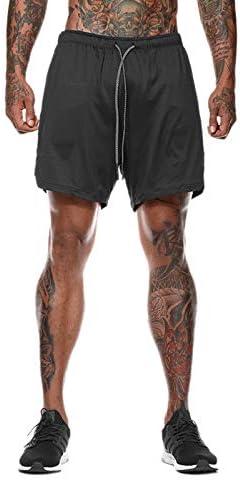 [해외]Elonglin Men Workout Gym Running Shorts TrainingInner Compression Quick Dry / Elonglin Men Workout Gym Running Shorts TrainingInner Compression Quick Dry