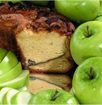 My Grandma APSMCN Small- 8 in.- 1.75 lbs Granny Smith Apple Coffee Cake No - Apple Nut Cake