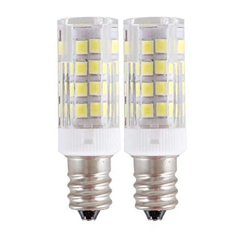 E12 LED Light Bulbs White, 110V-130V E12 Candelabra Base, S8 C7 T6 T7 T8 for Exit Picture light/ Chandelier/ Ceiling Fan/ Night Lamp - (130v Picture Light Bulb)