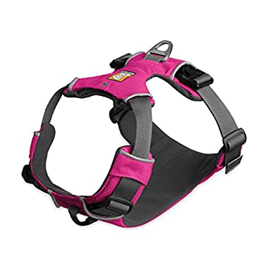 Ruffwear - Front Range All-Day Adventure Harness for Dogs, Alpenglow Pink, Medium
