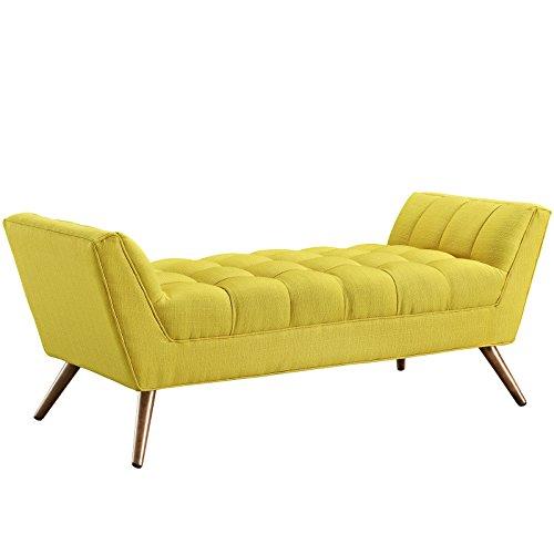 modway-response-fabric-bench-medium-sunny
