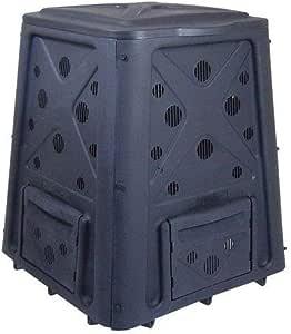 Redmon Since 1883 8000 Compost 65 Gallon bin, Full, Black